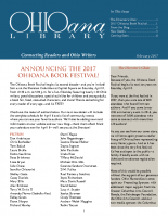 Feb 2017 Ohioana Newsletter