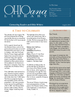 August 2014 Ohioana Newsletter
