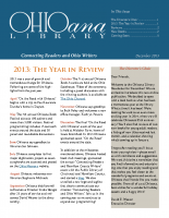 Dec 2013 Ohioana Newsletter