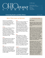 Jan 2015 Ohioana Newsletter