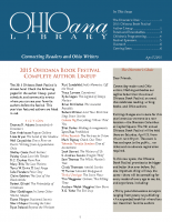 Mar Apr 2015 Ohioana Newsletter