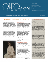March 2014 Ohioana Newsletter