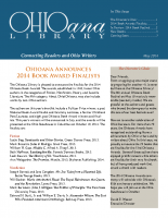 May 2014 Ohioana Newsletter