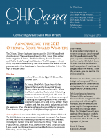 July Aug 2015 Ohioana Newsletter