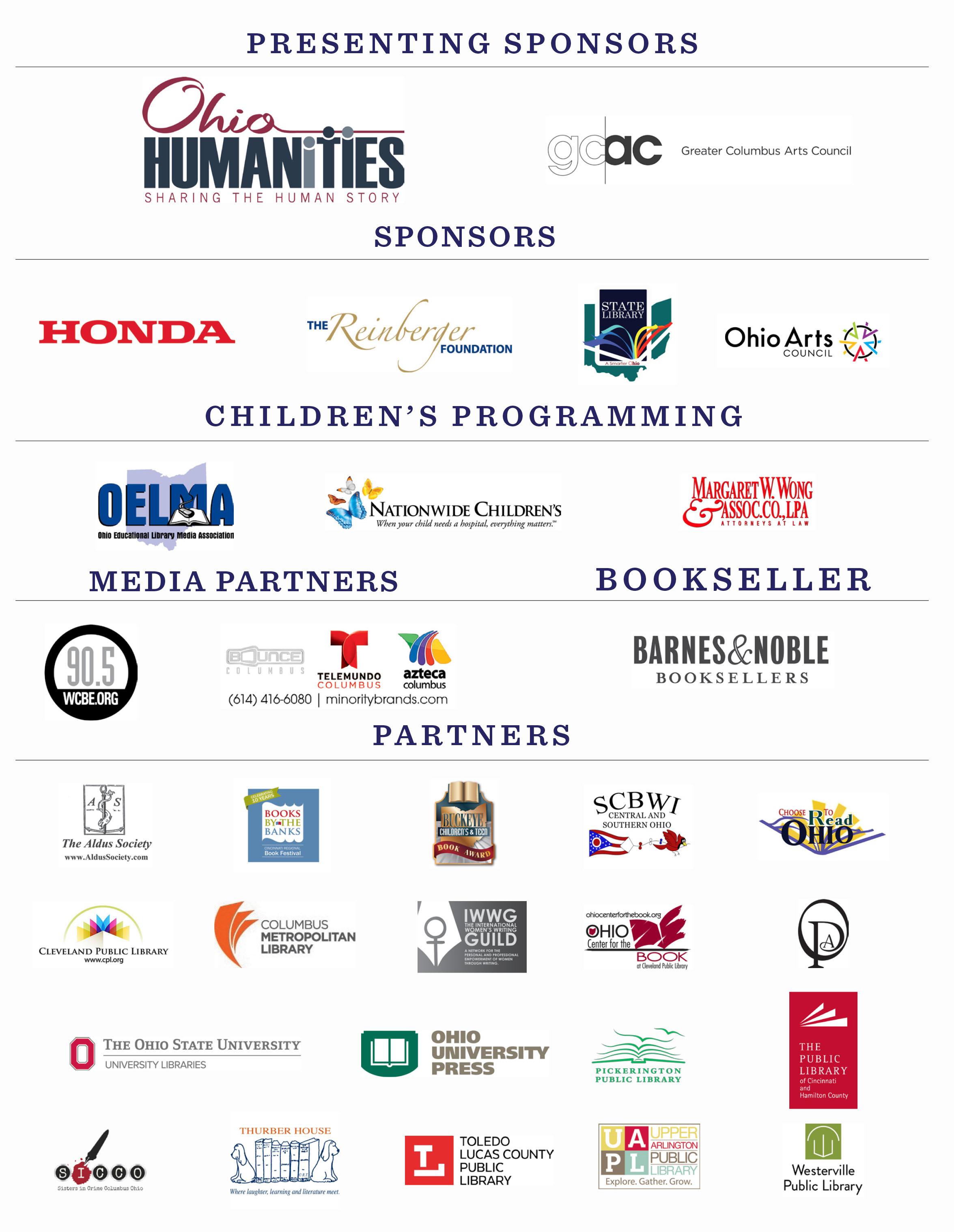 OBF Sponsors Partners