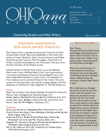 May June 2016 Ohioana Newsletter