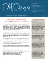 May 2017 Ohioana Newsletter