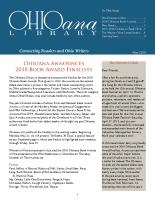 May 2018 Ohioana Newsletter