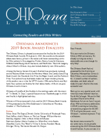 May 2019 Ohioana Newsletter