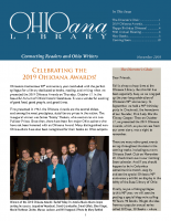 November 2019 Ohioana Newsletter