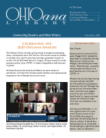 November 2020 Ohioana Newsletter