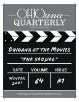 Ohioana Quarterly Winter 2021